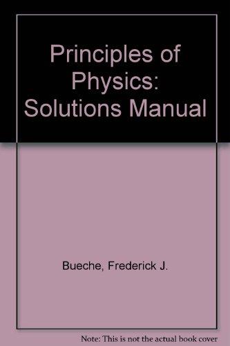 9780070088955: Principles of Physics