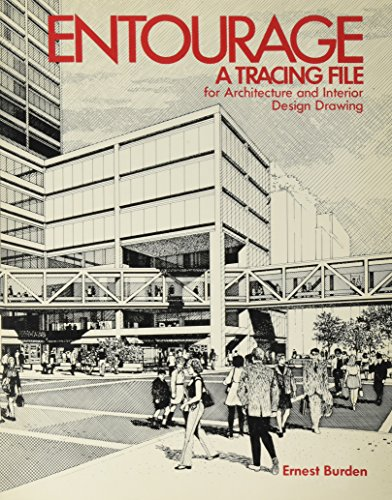9780070089303: Entourage: A Tracing File. For Architecture and Interior Design Drawing.