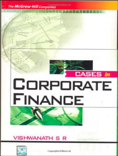 9780070090255: CASES IN CORPORATE FINANCE