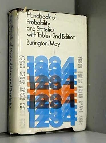 9780070090309: Handbook of Probability and Statistics With Tables