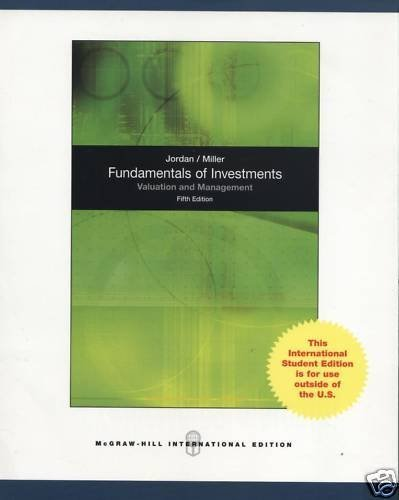 9780070091672: Fundamentals of Investments: Valuation and Management.