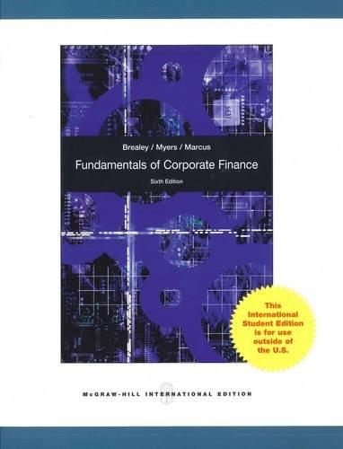 9780070091757: Fundamentals of Corporate Finance