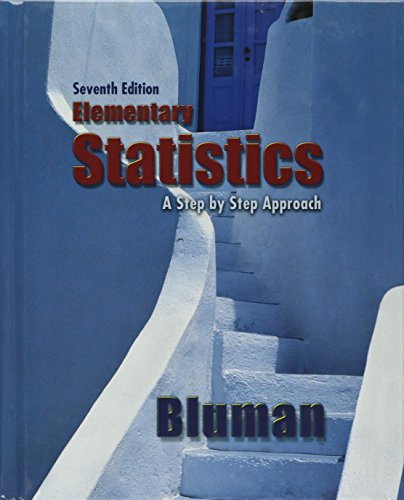 9780070091801: Elementary Statistics: A Step by Step Approach