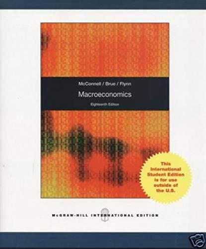 9780070092013: Macroeconomics