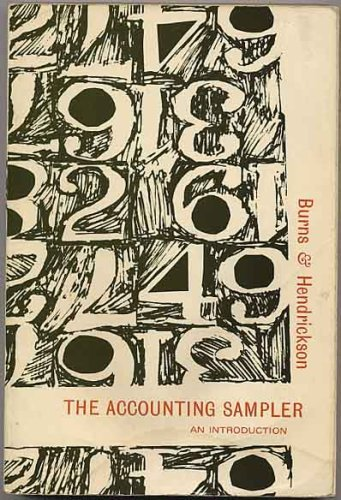 9780070092020: Accounting Sampler (McGraw-Hill accounting series)