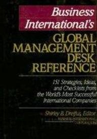 9780070093331: Business International's Global Management Desk Reference (Harvard Business School series in accounting & control)