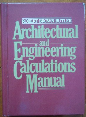 9780070093638: Architectural and Engineering Calculations Manual