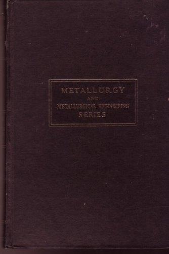 9780070094208: Metallurgical Problems (Metallurgy)