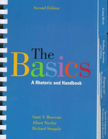 9780070094543: The Basics: A Rhetoric and Handbook
