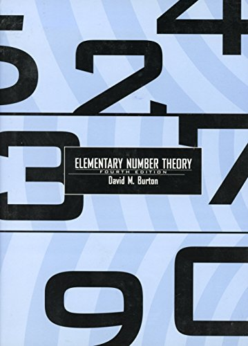 9780070094666: Elementary Number Theory: Fourth Edition