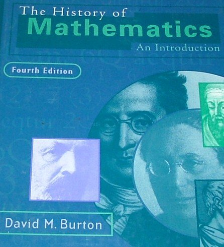 9780070094680: The History of Mathematics