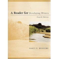 9780070094901: A Reader for Developing Writers