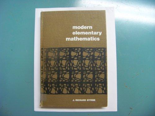 9780070095212: Modern Elementary Mathematics