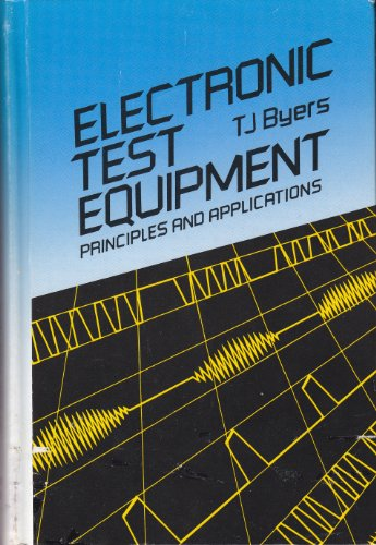 9780070095229: Electronic Test Equipment: Principles and Applications