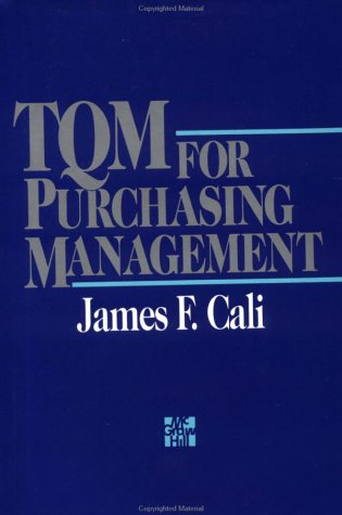 9780070096233: TQM for Purchasing Management