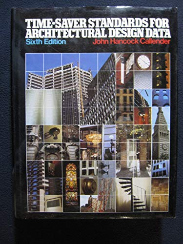 9780070096639: Time-Saver Standards for Architectural Design Data