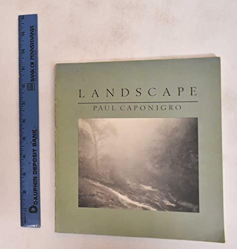 9780070097803: Landscape: Photographs by Paul Caponigro