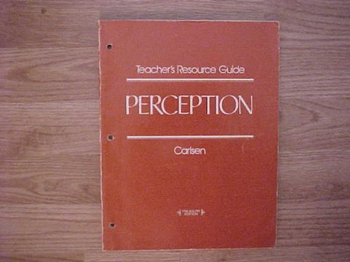 9780070098060: Teacher's Resource Guide for PERCEPTION McGraw-Hill Literature Series (The McGraw-Hill Literature Series)