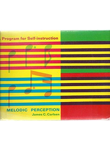 Melodic Perception: A Program for Self-Instruction: Carlsen, James C.