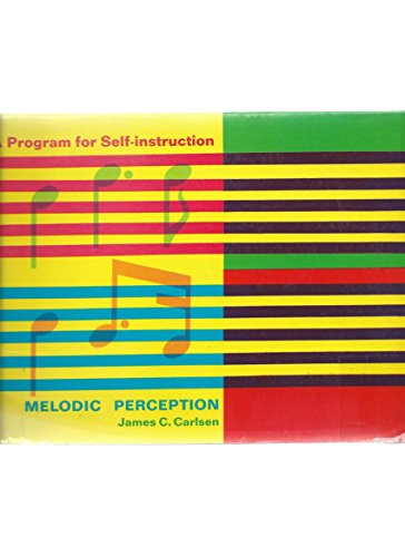 9780070099753: Melodic Perception: A Program for Self Instruction