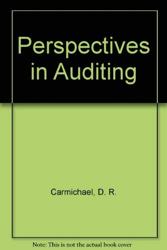 9780070099883: Perspectives in Auditing