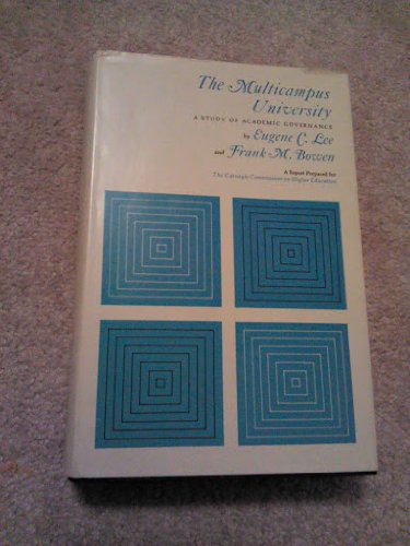 9780070100329: The Multicampus University: A Study of Academic Governance