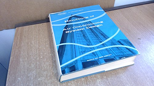 Handbook of Air Conditioning System Design: Carrier Air Conditioning