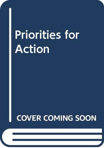 9780070101043: Priorities for Action