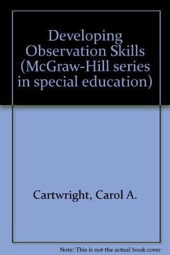 9780070101845: Developing observation skills (McGraw-Hill series in special education)