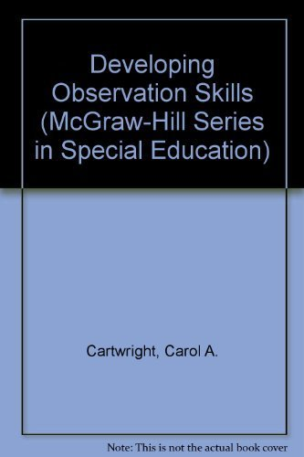 9780070101852: Developing Observation Skills (McGraw-Hill Series in Special Education)