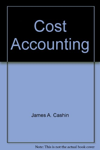 9780070102132: Cost Accounting