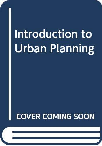 9780070102286: Introduction to Urban Planning