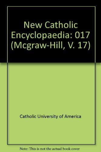 9780070102354: New Catholic Encyclopedia: Supplement Change in the Church (Mcgraw-Hill, V. 17)