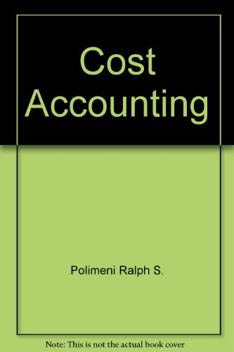 9780070102576: Cost Accounting