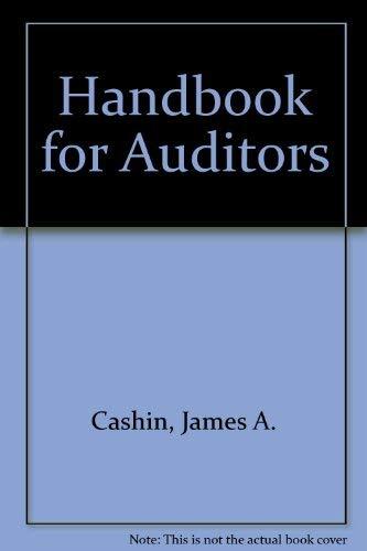 9780070102644: Handbook for Auditors