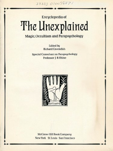 9780070102958: The Encyclopedia of the Unexplained: Magic, Occultism, and Parapsychology