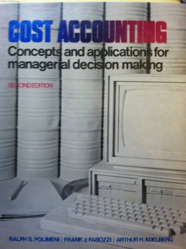 9780070103108: Cost Accounting