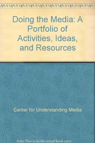 9780070103368: Doing the Media: A Portfolio of Activities, Ideas, and Resources