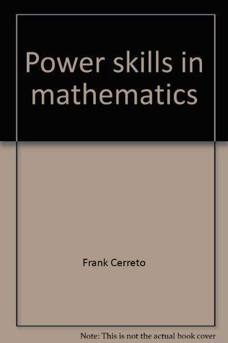 9780070103382: Power skills in mathematics--II (McGraw-Hill paperbacks)