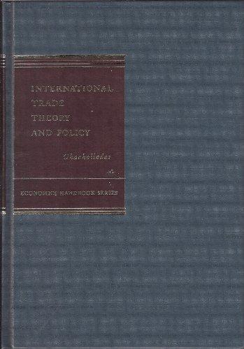 9780070103443: International Trade Theory and Policy (Economics handbook series)