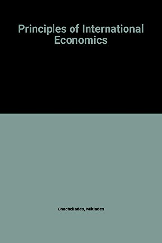 9780070103450: Principles of International Economics