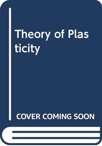 9780070103924: Theory of Plasticity