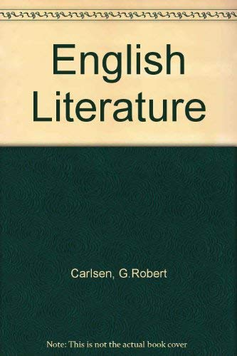 9780070104150: English Literature: A Chronological Approach