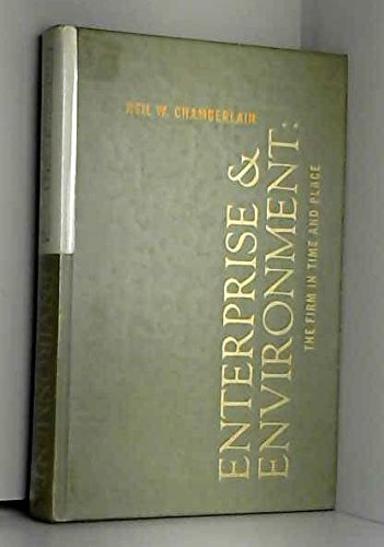 9780070104457: Enterprise and Environment; the Firm in Time and Place