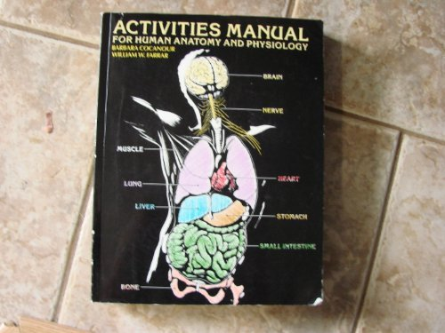 9780070104952: Activities Manual for Human Anatomy and Physiology