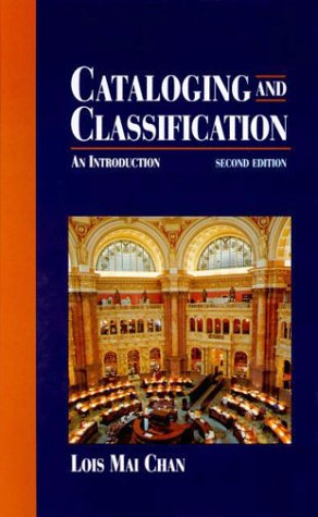 9780070105065: Cataloging and Classification: An Introduction (Second Edition)
