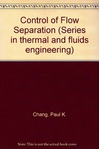 9780070105133: Control of Flow Separation (Series in thermal and fluids engineering)