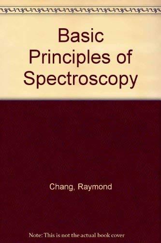 9780070105171: Basic Principles of Spectroscopy