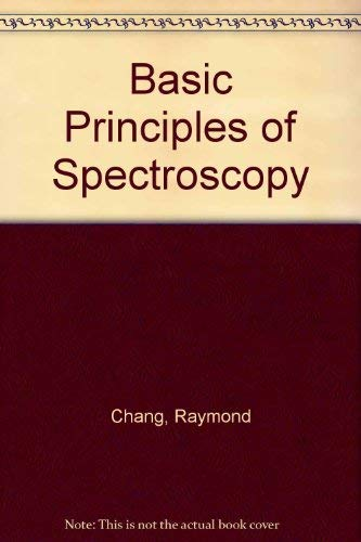 9780070105171: Basic Principles of Spectroscopy