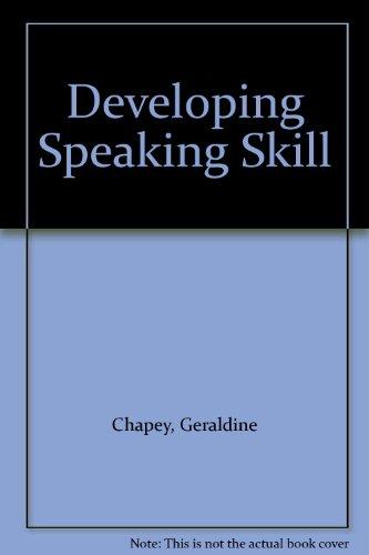 9780070105454: Developing Speaking Skill
